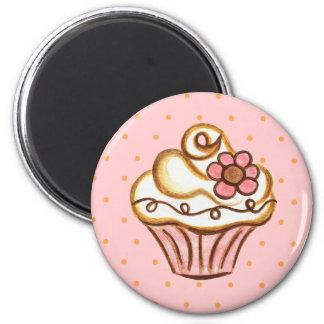 Cupcake Bakery Kitchen Magnet Gift
