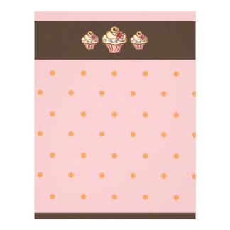 Cupcake Bakery Letterhead