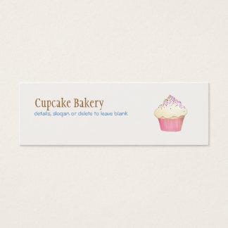 Cupcake Bakery MIni Business Card