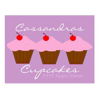 Cupcake Bakery Postcard