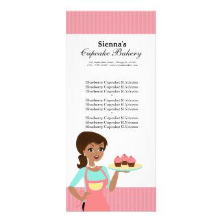 Cupcake Bakery Rack Card