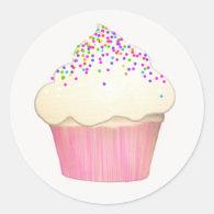 Cupcake Bakery Sticker