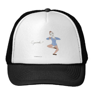 Cupcake Ballerina Mesh Hat