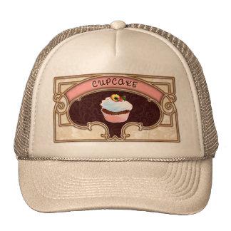 Cupcake Banner Victorian Style Trucker Hat