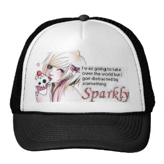 Cupcake Barbie Trucker Hat