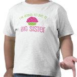 Cupcake Big Sister to Be T Shirts