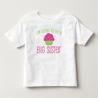 Cupcake Big Sister to Be T-shirts
