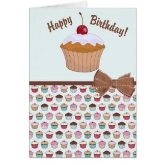 Cupcake - Birthday Card