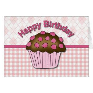 Cupcake Birthday Cards - Customizable