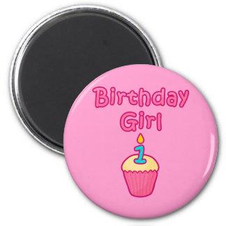 Cupcake Birthday Girl 1 Magnet