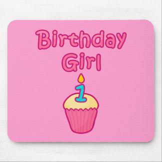 Cupcake Birthday Girl 1 Mouse Pad
