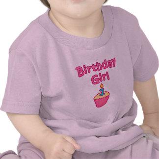 Cupcake Birthday Girl 1 Shirts