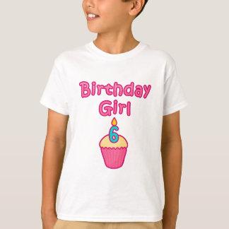 Cupcake Birthday Girl 6 T-Shirt