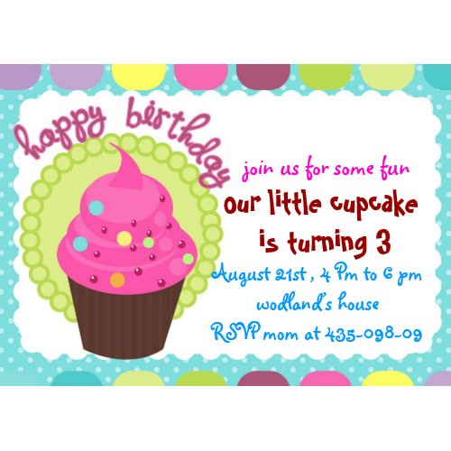 cupcake birthday party invitation zazzle_invitation