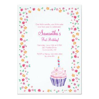 cupcake_birthday_party_invitation r01448c42973943128ae06ee26ee64296_zkrqs_324?rlvnet=1 cupcake birthday invitations & announcements zazzle,Cake Decorating Birthday Party Invitations
