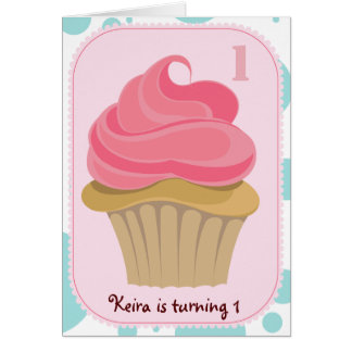 Cupcake Birthday Party Invite