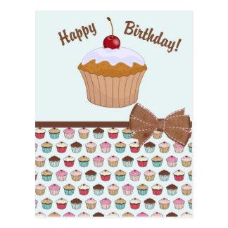 Cupcake - Birthday Postcard