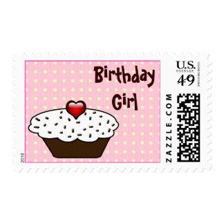 Cupcake birthday  stamp