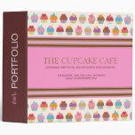 Cupcake Boutique Portfolio Binder