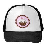 CUPCAKE BROWN & PINK TRUCKER HAT