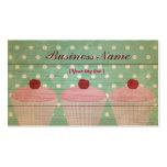 Cupcake Business Card Template
