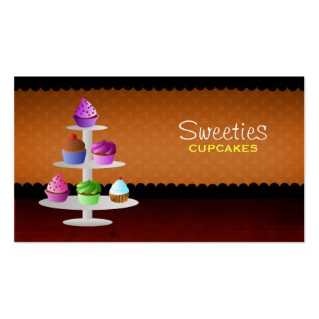 Delicious Cupcakes Visiting Cards