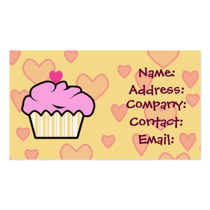 cupcake business card template - 28 images - bird and cupcake ...