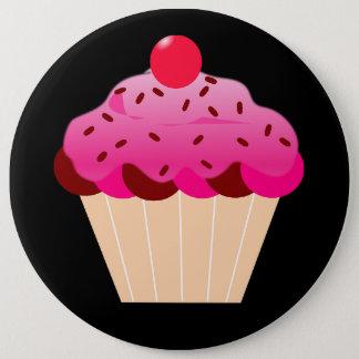 cupcake button black background