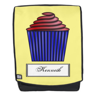 Cupcake by Kenneth Yoncich Backpack