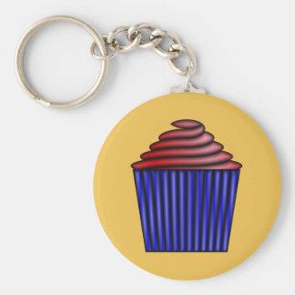Cupcake by Kenneth Yoncich Keychain
