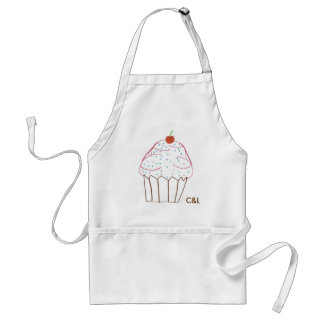 cupcake, C&L Adult Apron