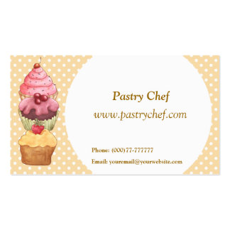 Cupcake Cake Pastries Business Card
