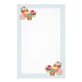 Cupcake Cake Pastries Stationery