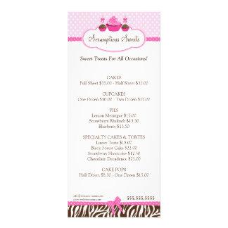Cupcake Cake Pops Bakery Business Rack Card