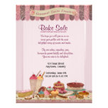Cupcake, Cakes and Treats Bake Sale Flyer