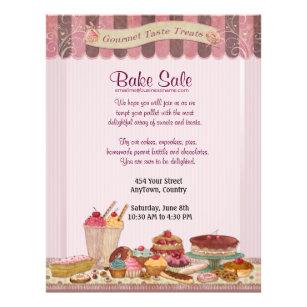 cupcake flyers zazzle