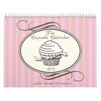 Cupcake Calendar 2011 Double Page