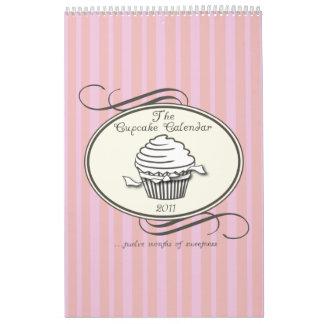 Cupcake Calendar 2011 Single Page
