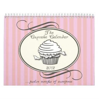 Cupcake Calendar 2012 Double Page