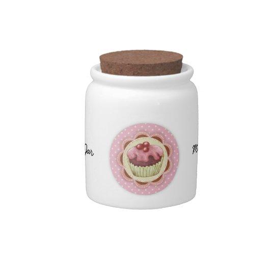 Cupcake Candy Jar