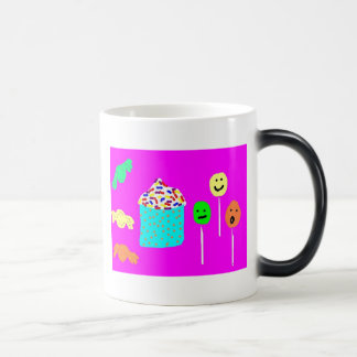 Cupcake & Candy Magic Mug