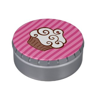 Cupcake Candy Tin