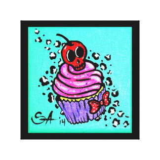 """Cupcake"" canvas"