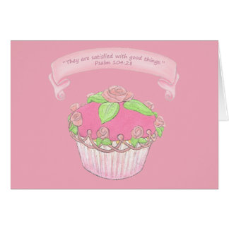 Cupcake Card 2~Scriptures