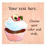 Cupcake Card Invitation Party