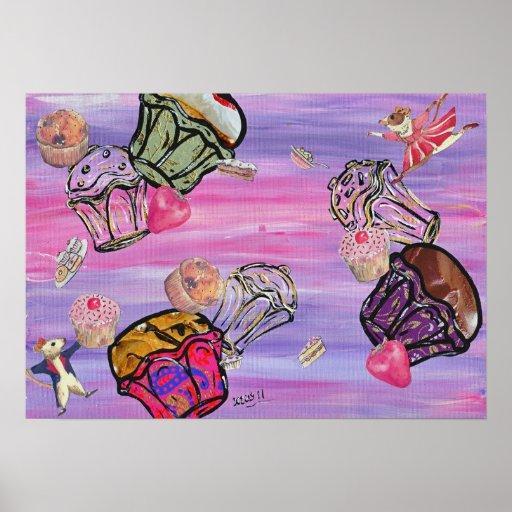 Cupcake Carnival print
