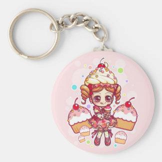 Cupcake-chan Keychain