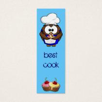 cupcake chef owl