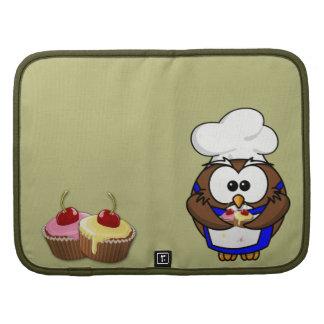 cupcake chef owl folio planners