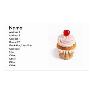 Cupcake Cherry Business Card